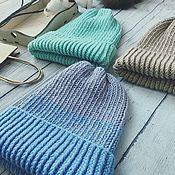 Аксессуары handmade. Livemaster - original item Children`s beanie cap fall-winter, PP 48-52. Handmade.