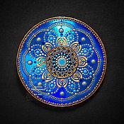 Картины и панно handmade. Livemaster - original item Panel by the Will of fate. Dot painting. mandala. Handmade.