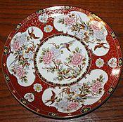 Винтаж handmade. Livemaster - original item Beautiful, decorative plate