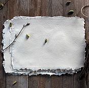 """Материалы для творчества ручной работы. Ярмарка Мастеров - ручная работа """"Milk Rose"""" - бумага ручной работы. Handmade."""