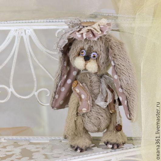 """Мишки Тедди ручной работы. Ярмарка Мастеров - ручная работа. Купить заяц друзья  Тедди """" Зайчик Шура """". Handmade."""