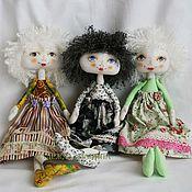 Куклы и игрушки ручной работы. Ярмарка Мастеров - ручная работа Кукла текстильная средняя №3. Handmade.