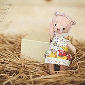 Куклы и игрушки ручной работы. Ярмарка Мастеров - ручная работа тедди Бусинка. Handmade.