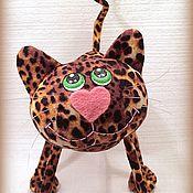 Куклы и игрушки ручной работы. Ярмарка Мастеров - ручная работа Леопардовый кот  , чем не бенгальский?:))). Handmade.
