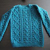 Jumpers handmade. Livemaster - original item Knitted jumper,