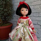 Одежда для кукол ручной работы. Ярмарка Мастеров - ручная работа Платье+повязка для Паола Рейна. Handmade.