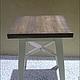 Мебель ручной работы. Ярмарка Мастеров - ручная работа. Купить Деревянный табурет (001). Handmade. Табурет, дерево