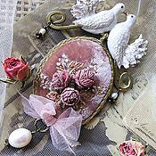 Necklace handmade. Livemaster - original item Necklace-brooch