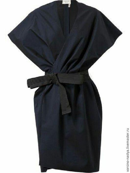 """Платья ручной работы. Ярмарка Мастеров - ручная работа. Купить Платье """"Кимоно"""". Handmade. Черный, Платье нарядное"""