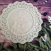 Для дома и интерьера handmade. Livemaster - original item Crochet napkin, Patricia Kristoffersen, decorative napkin. Handmade.