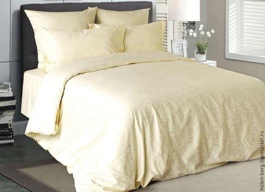 Текстиль, ковры ручной работы. Ярмарка Мастеров - ручная работа. Купить Комплект постельного белья. Handmade. Белый, постельное белье