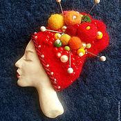 """Украшения ручной работы. Ярмарка Мастеров - ручная работа Брошь """"Фиора"""". Handmade."""