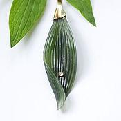 Pendants handmade. Livemaster - original item Pendant with jade
