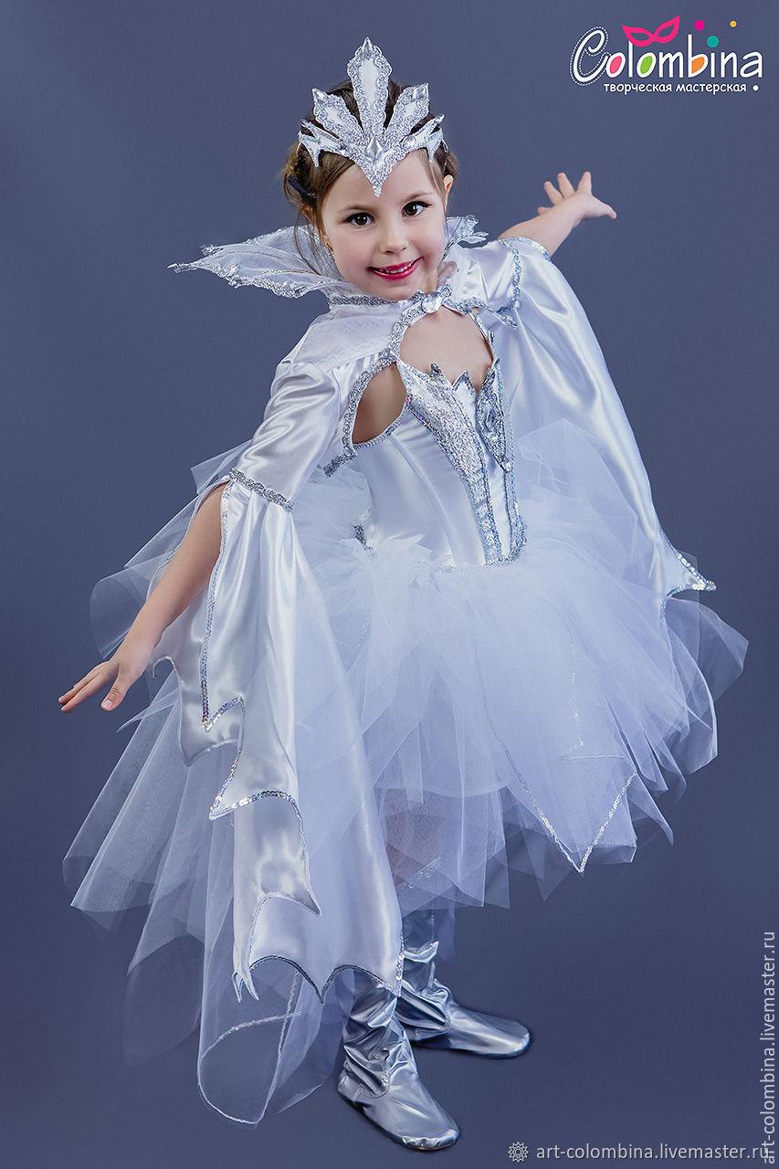 Новогодний костюм снежной королевы фото