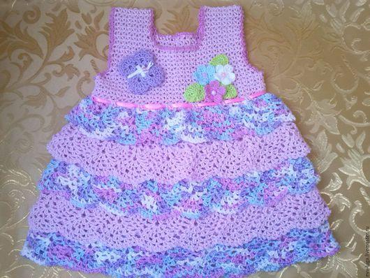 Одежда для девочек, ручной работы. Ярмарка Мастеров - ручная работа. Купить Платье - туника для девочки. Handmade. Платье, ручная работа