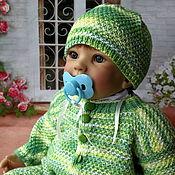 Куклы и игрушки ручной работы. Ярмарка Мастеров - ручная работа Комбинезон для куклы 55-65 см. Handmade.