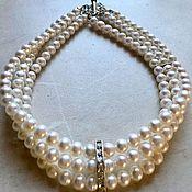 Украшения handmade. Livemaster - original item Pearl choker - decoration timeless. Handmade.