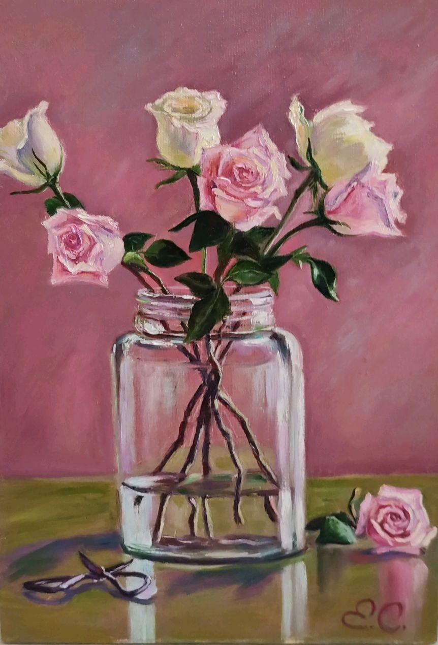 Букет роз, Картины, Ярославль,  Фото №1