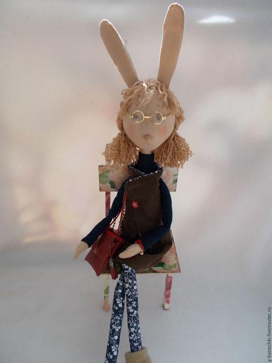 Игрушки животные, ручной работы. Ярмарка Мастеров - ручная работа. Купить Кроля Жаннет. Handmade. Коричневый, браслет на руку