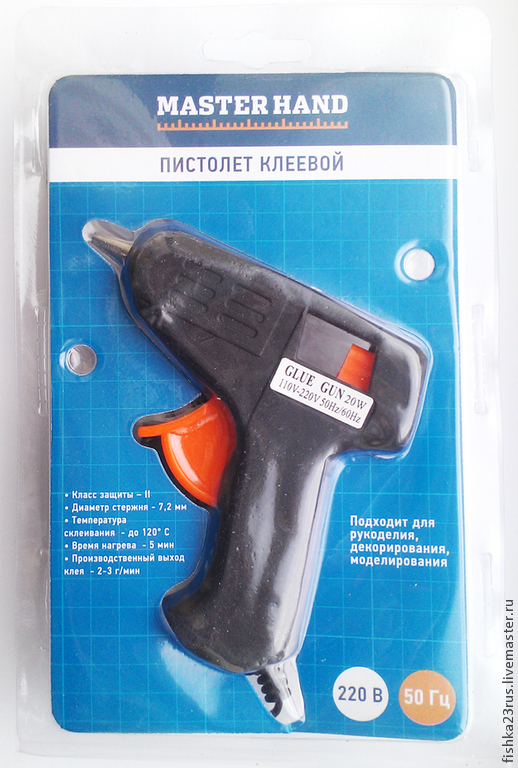 Другие виды рукоделия ручной работы. Ярмарка Мастеров - ручная работа. Купить Клеевой пистолет. Handmade. Горячий клей
