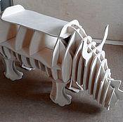 Для дома и интерьера ручной работы. Ярмарка Мастеров - ручная работа Полка Носорог. Handmade.