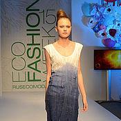 Одежда ручной работы. Ярмарка Мастеров - ручная работа Маленькое шелковое платье. Handmade.