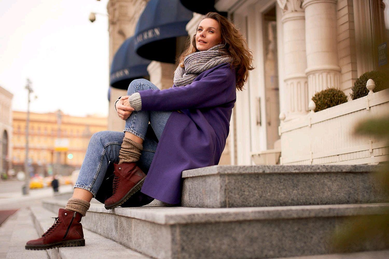 Oversize coat ' Lavender', Coats, Moscow,  Фото №1