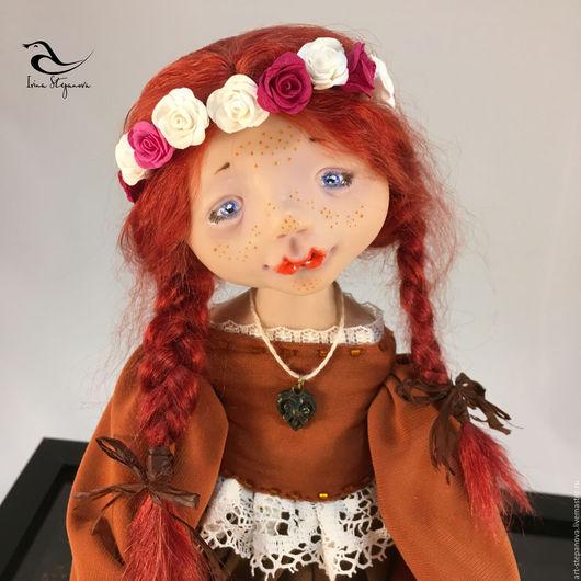 Коллекционные куклы ручной работы. Ярмарка Мастеров - ручная работа. Купить Храброе Сердце. Handmade. Комбинированный, кукла интерьерная, подарок