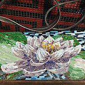 """Для дома и интерьера ручной работы. Ярмарка Мастеров - ручная работа Мозаика, Консоль """"Лотос"""". Handmade."""