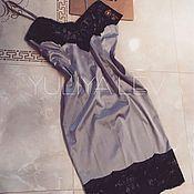 Одежда ручной работы. Ярмарка Мастеров - ручная работа Платье-комбинация YuliyaLEV. Handmade.