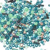 Материалы для творчества handmade. Livemaster - original item 10g Toho MIX 3222 TATSU Japanese TOHO beads. Handmade.