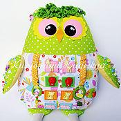 Куклы и игрушки ручной работы. Ярмарка Мастеров - ручная работа Развивающая игрушка сова. Handmade.