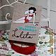 """Женские сумки ручной работы. Ярмарка Мастеров - ручная работа. Купить Клатч-книга """"Лолита"""". Handmade. Клатч-книга, рисунок"""