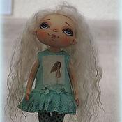 Куклы и игрушки handmade. Livemaster - original item The soft MINT!Doll, Textile, Interior Copyright.. Handmade.