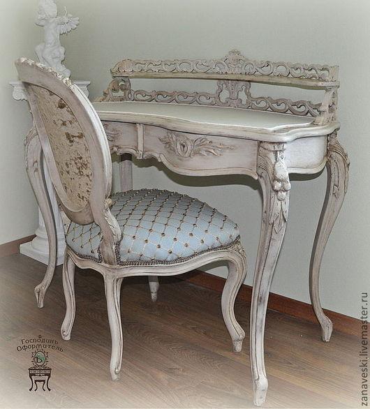 """Мебель ручной работы. Ярмарка Мастеров - ручная работа. Купить Дамский письменный стол """"В духе королевы Виктории"""". Handmade."""