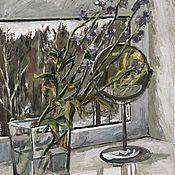 Картины ручной работы. Ярмарка Мастеров - ручная работа Отражение весны. Handmade.