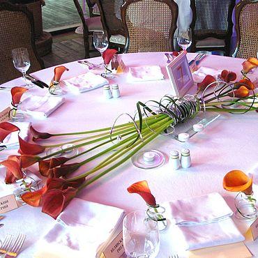 Свадебный салон ручной работы. Ярмарка Мастеров - ручная работа Композиция для оформления. Живые цветы.. Handmade.
