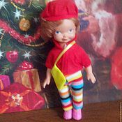 Винтаж ручной работы. Ярмарка Мастеров - ручная работа Кукла ГДР  винтаж. Handmade.