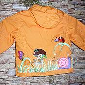 """Одежда ручной работы. Ярмарка Мастеров - ручная работа детская куртка""""Букашки-таракашки"""". Handmade."""