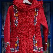 Одежда ручной работы. Ярмарка Мастеров - ручная работа Детское пальто 16cj03. Handmade.
