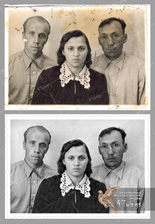 очевидцы как делать реставрацию фотографий картинки кристанна