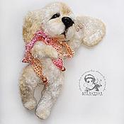 Куклы и игрушки ручной работы. Ярмарка Мастеров - ручная работа Тедди щенок Шанси (собачка тедди). Handmade.