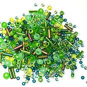 Материалы для творчества handmade. Livemaster - original item 10g Toho MIX 3221 Wasabi Japanese TOHO Beads. Handmade.
