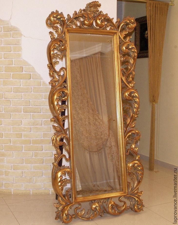 Большое зеркало фото