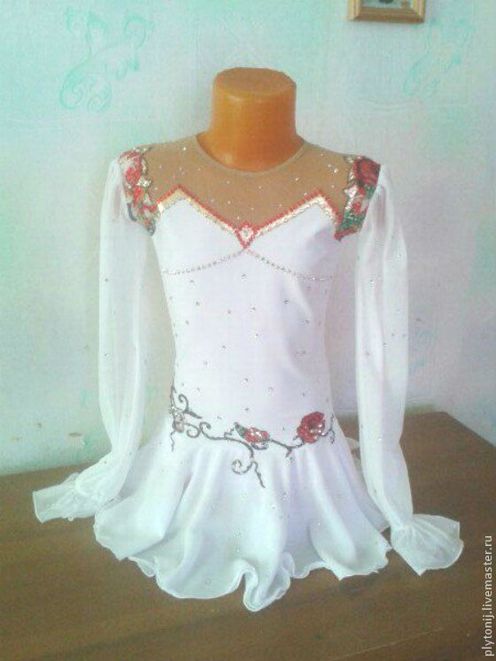Платье для фигурного катания доставка