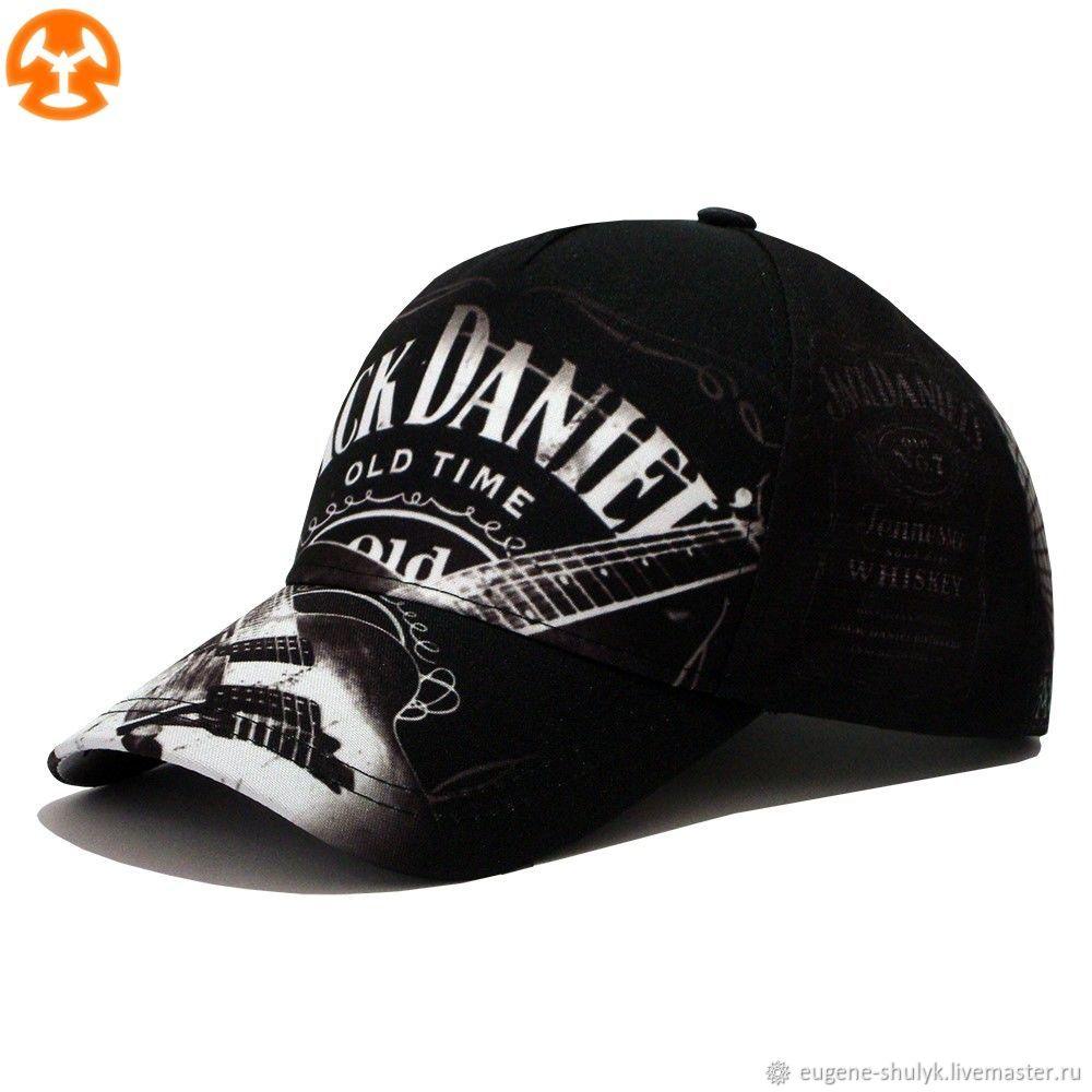 Jack Daniel's printed baseball Cap, Baseball caps, Moscow,  Фото №1
