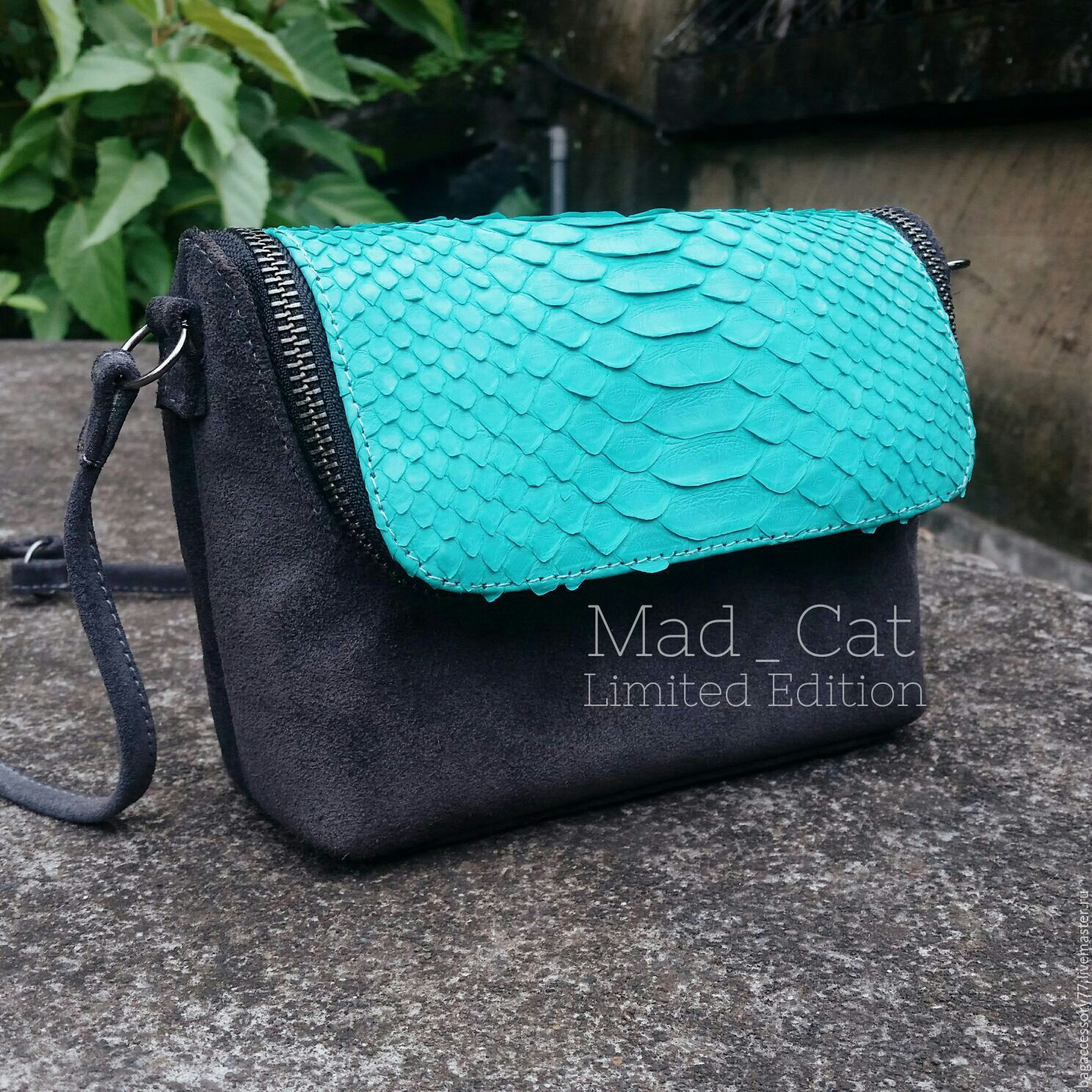 Bag made of genuine leather Python skin, Classic Bag, Moscow,  Фото №1