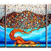 Картины и панно handmade. Livemaster - original item Rainbow tree. Handmade.