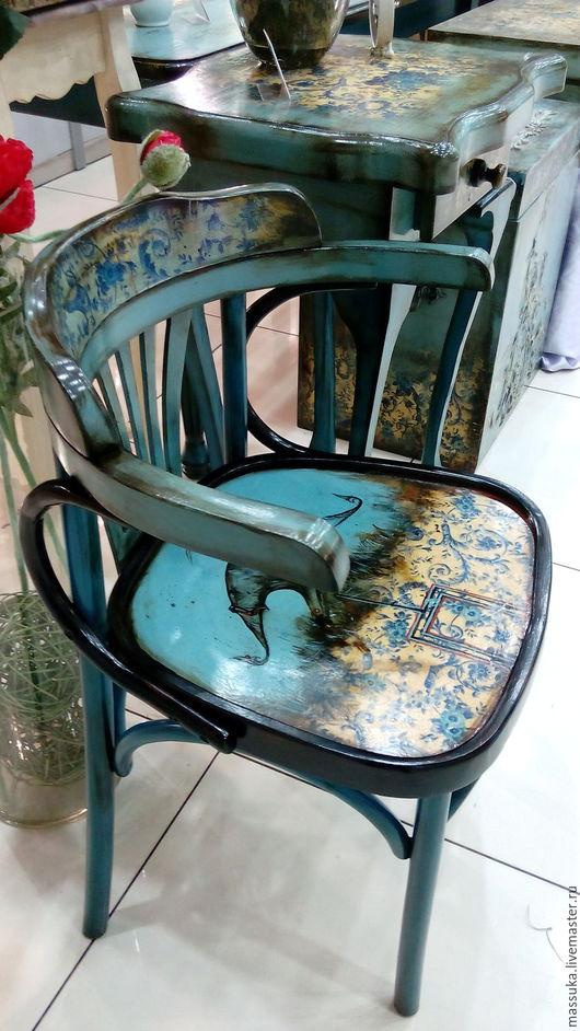 Мебель ручной работы. Ярмарка Мастеров - ручная работа. Купить Стул Маркиз. Handmade. Синий, мебель из дерева, мебель для дома