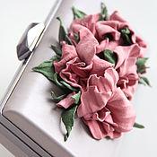 """Сумки и аксессуары ручной работы. Ярмарка Мастеров - ручная работа Клатч """" Chinesse rose """". Handmade."""